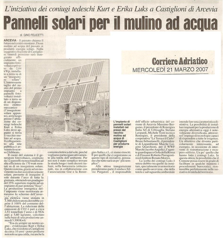 impianto fotovoltaico kl.