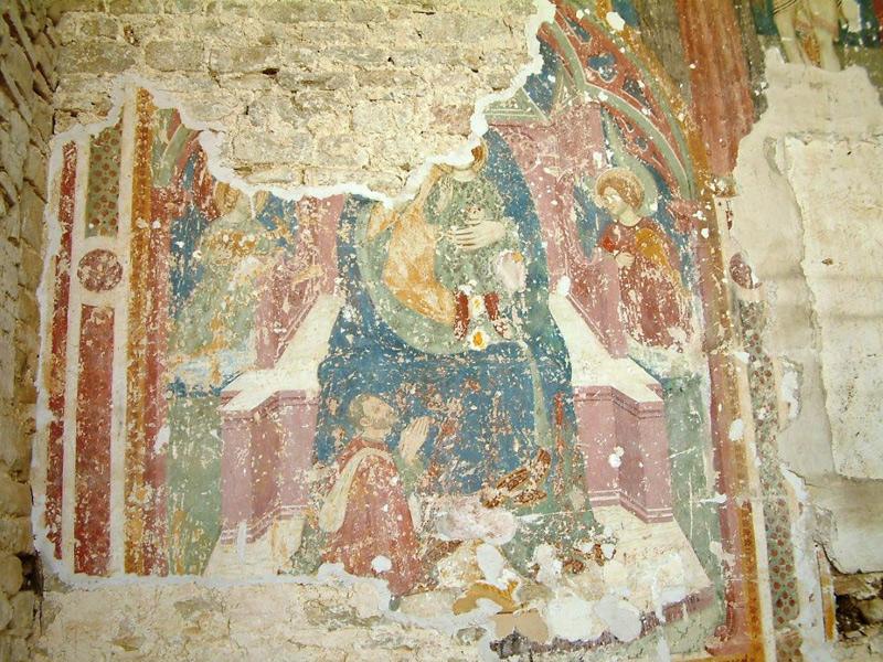 madonna con bambino castiglioni arcevia