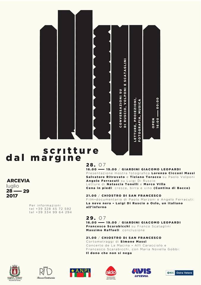 scritture dal margine